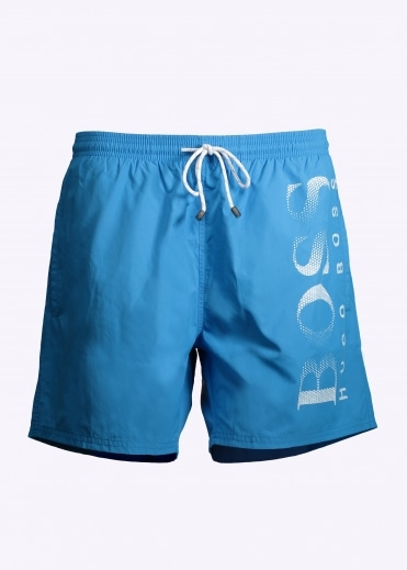 Hugo Boss Octopus Shorts - Light Blue