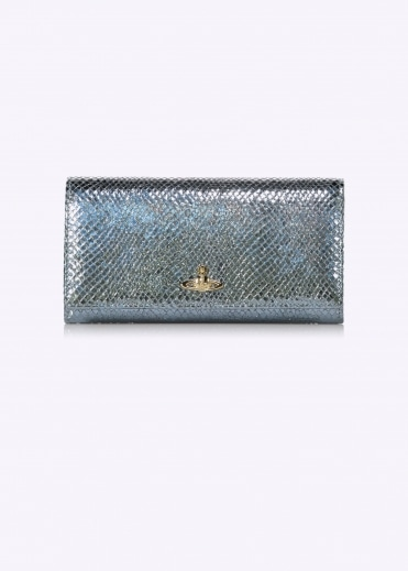 Long Chain Wallet - Light Blue
