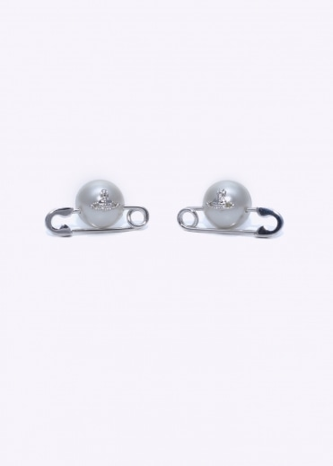 Vivienne Westwood Jewellery Jordan Earrings - Natural Pearl