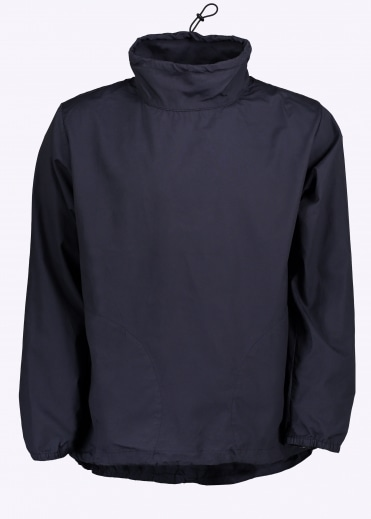 Long Sleeve Mock Neck Pullover - Navy