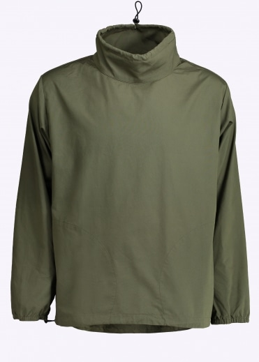 Long Sleeve Mock Neck Pullover - Olive