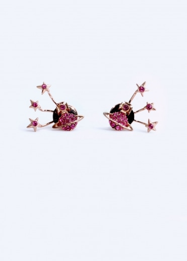 PIA Earrings - Pink Gold