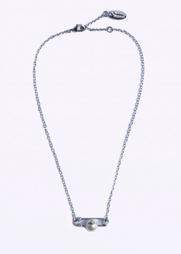 Vivienne Westwood Accessories Jordan Small Necklace - Natural