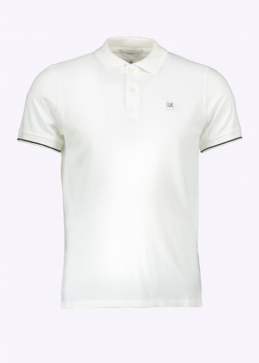 Polo Shirt Optical - White