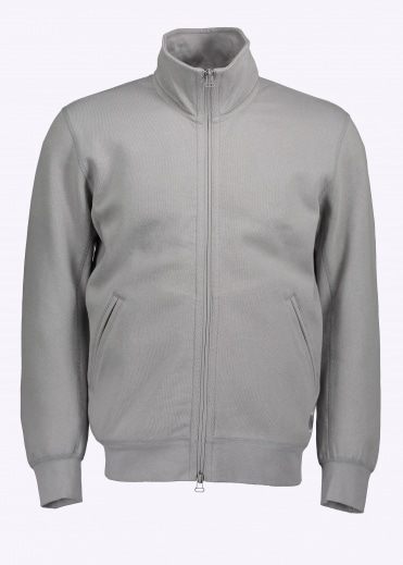 Bonded Interlock FZ Jacket - Grey