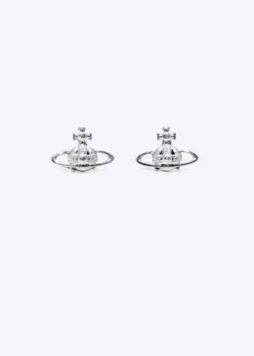 Suzie Earrings - Rhodium