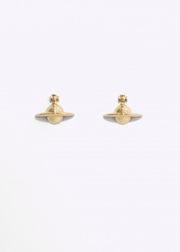 Solid Orb Earrings - Gold