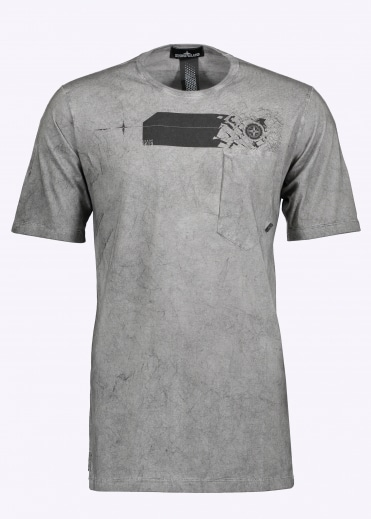 Catch Pocket-T T-Shirt - Charcoal