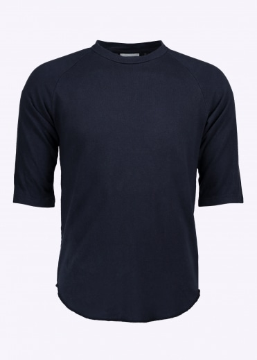 Solid Raglan 3/4 Sleeve - Navy