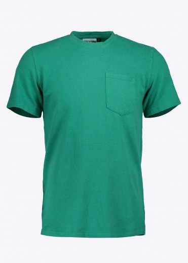 7oz Pocket Tee - Bright Green
