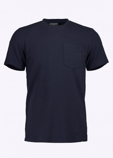 7oz Pocket Tee - Navy