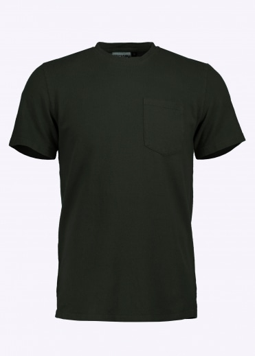 7oz Pocket Tee - Forest Green