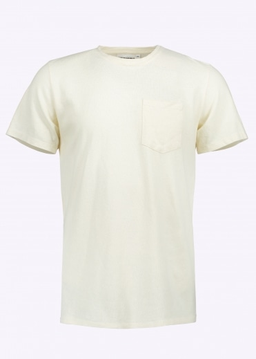 7oz Pocket Tee - Washed White