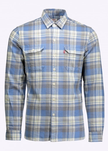 Jackson Worker Shirt - Dutch Blue