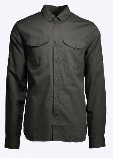 Ovik Lite Shirt - Mountain Grey