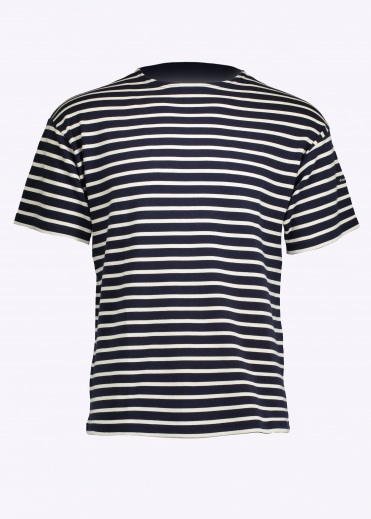 Doelan Sailor Tee Ship - Blue / Nature