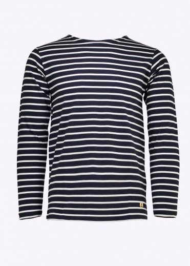 Sailor Shirt LS - Navy / White