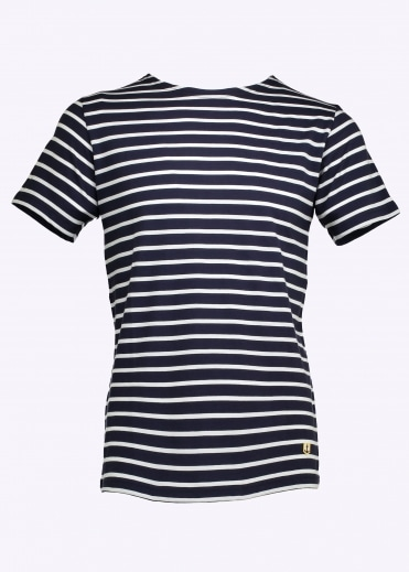 Sailor Shirt SS - Navy / White