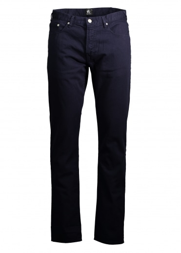 Tapered Fit Jeans - Navy