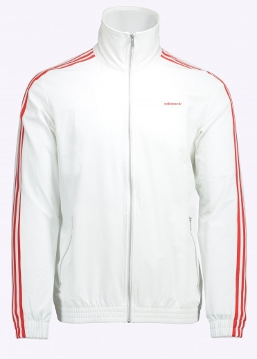 Modern Track Top - White