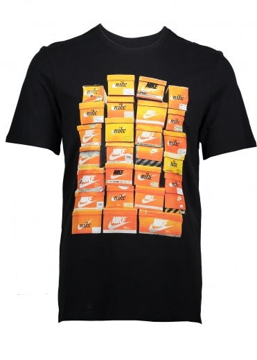 Vintage Shoebox Tee - Black