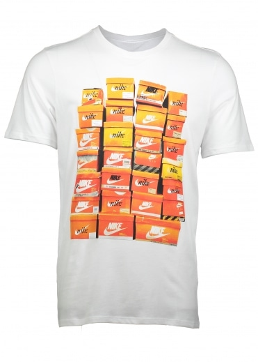 Vintage Shoebox Tee - White