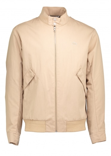 Zip Harrington Jacket - Macaroon