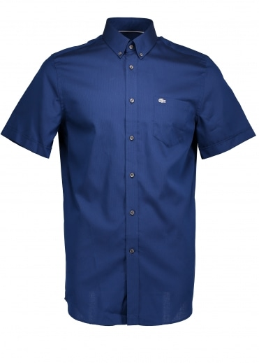 Regular Fit Gingham Shirt - Philipines Blue