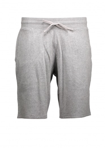 Flatback Sweatshort - Heather Grey