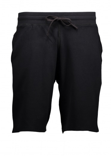 Flatback Sweatshort - Black