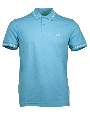 Green Paul Polo - Open Blue
