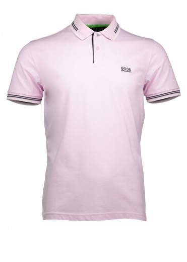 Green Paul Polo - Pink