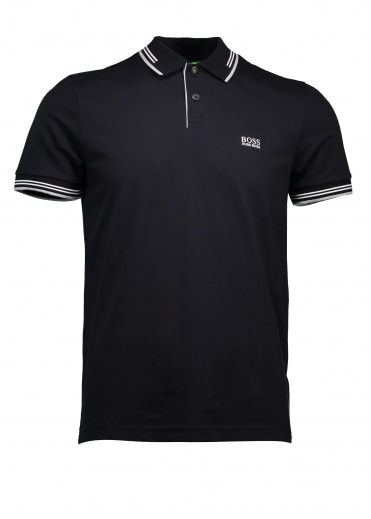 Green Paul Polo - Black