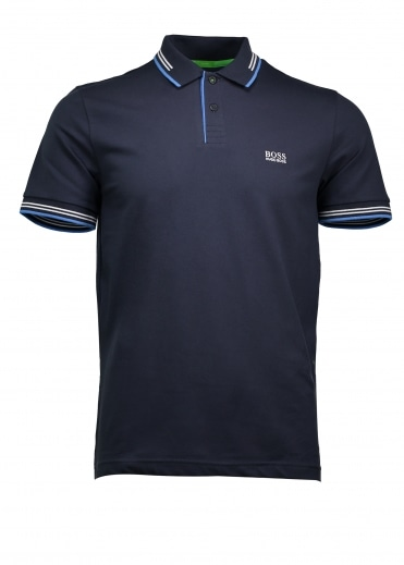 Green Paul Polo - Navy