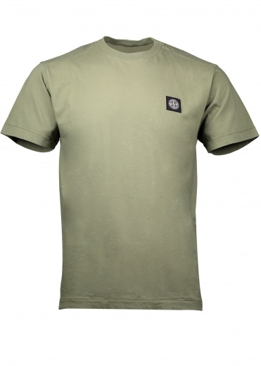 Badge T-Shirt - Sage