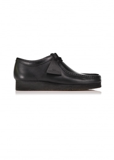 Wallabee Leather - Black