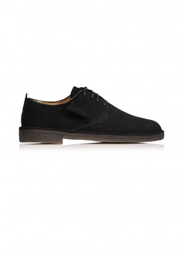 Desert London - Black Suede