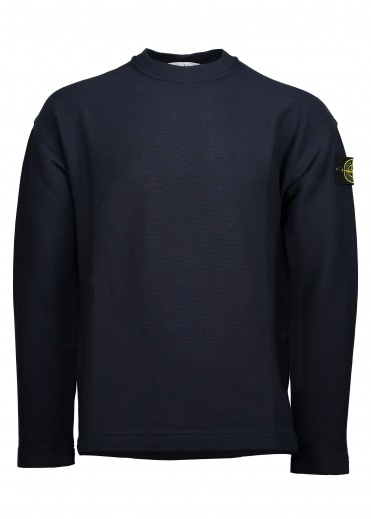 Crew Sweater - Blue Marine