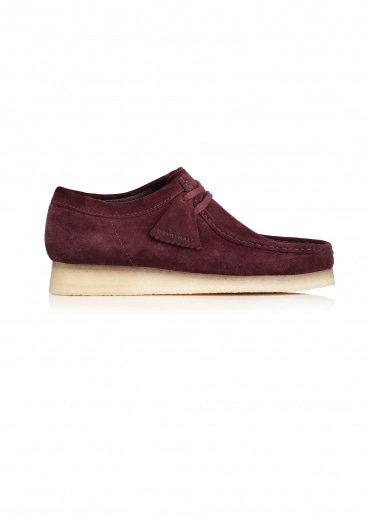 Wallabee Suede - Burgundy