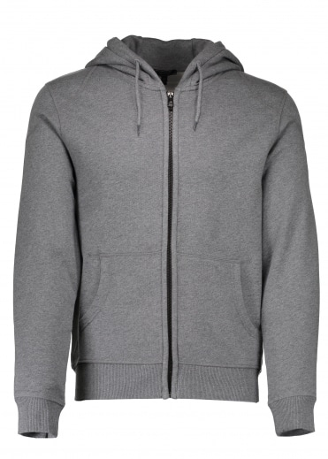 Wentworth Full Zip Hoodie - Dark Grey