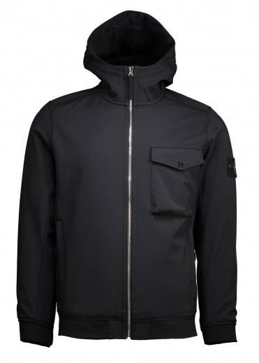 Soft Shell R Jacket - Black