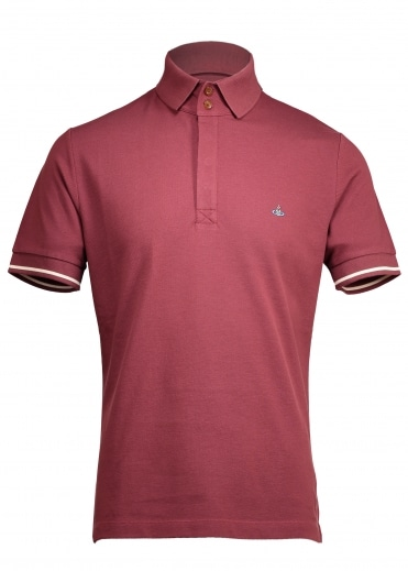 Overlock Polo - Red