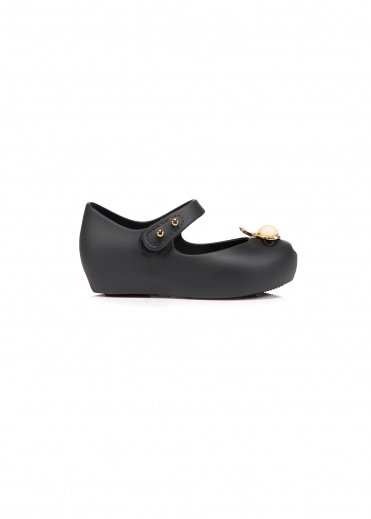 x Melissa Kids Mini Ultragirl 18 - Black Pearl