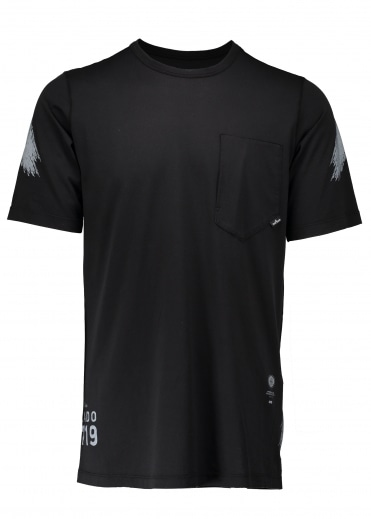 Catch Pocket Tee - Black