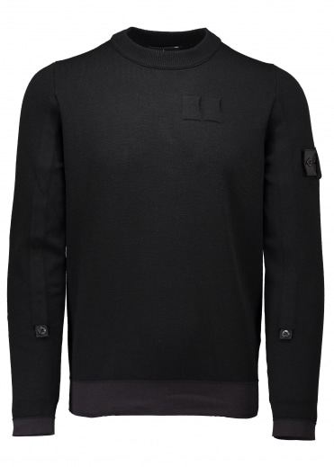 Knit Sweat - Black