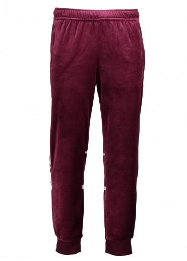Challenger Velour Track Pant - Maroon