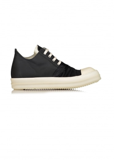 Low Sneaks Woven Shoes - Black / Milk