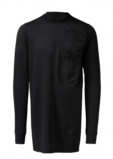 Pocket LS Tee - Black
