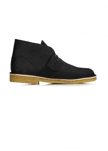 Desert Boot Suede - Black