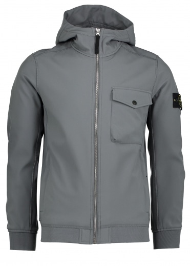 Soft Shell - R Jacket - Grey